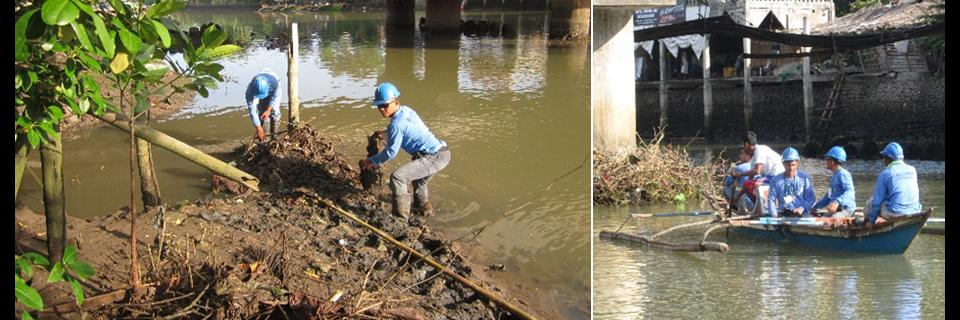 BACIWA Joins Hundreds In Sum-Ag River Clean-Up