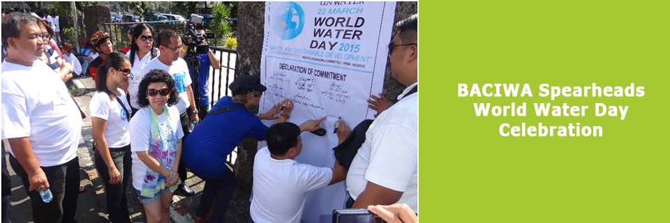 BACIWA Spearheads World Water Day Celebration